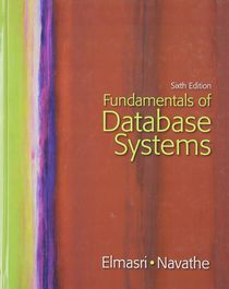 Fundamentals of Database Systems, 6 edition