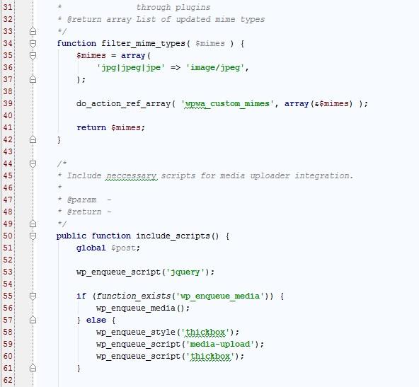 Programmering af hjemmeside